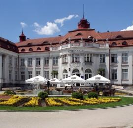 14. Plavecký bazén Alžbětiny lázně Karlovy Vary