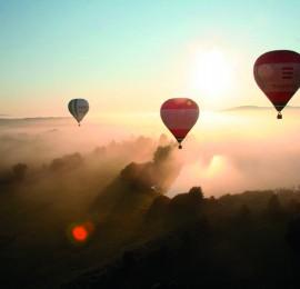46. Vyhlídkové lety balonem Karlovy Vary