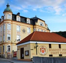 57. Rodinný pivovar svatý Florian a muzeum lázeňských pohárků Loket
