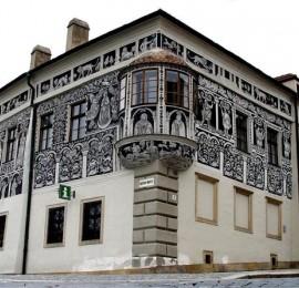 Malovaný dům v Třebíči