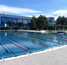 Plavecký areál Olomouc