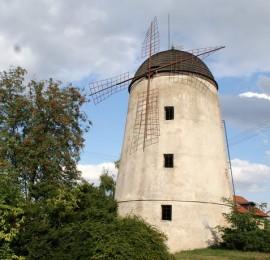 Větrný mlýn v Třebíči