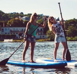 Žluté lázně – Paddleboardy, vodní lyžování, šlapadla