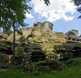 Zřícenina hradu Rotštejn