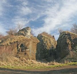 Zřícenina hradu Veliš